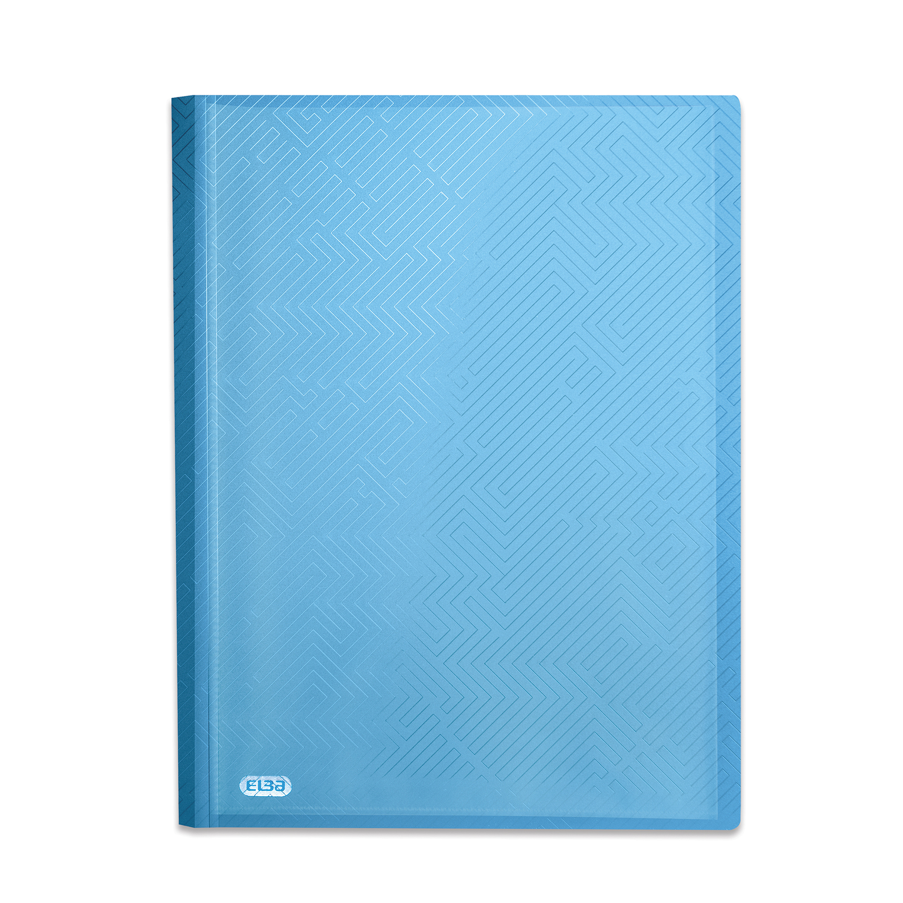 Display Books Elba Bright Display Book PP 20 Pkt A4 Blue Ref 400104983 Pack 10