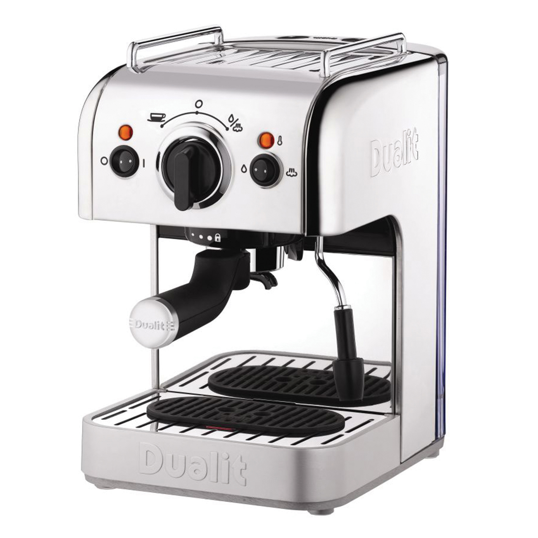 Coffee Machines & Accessories Dualit 3 In 1 Coffee Machine Stainless Steel Ref DA8440