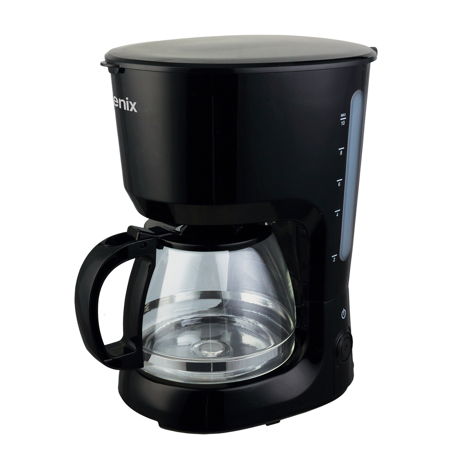Coffee Machines & Accessories IGENIX Filter Coffee Maker 1.25 Litre Black Ref IG8127