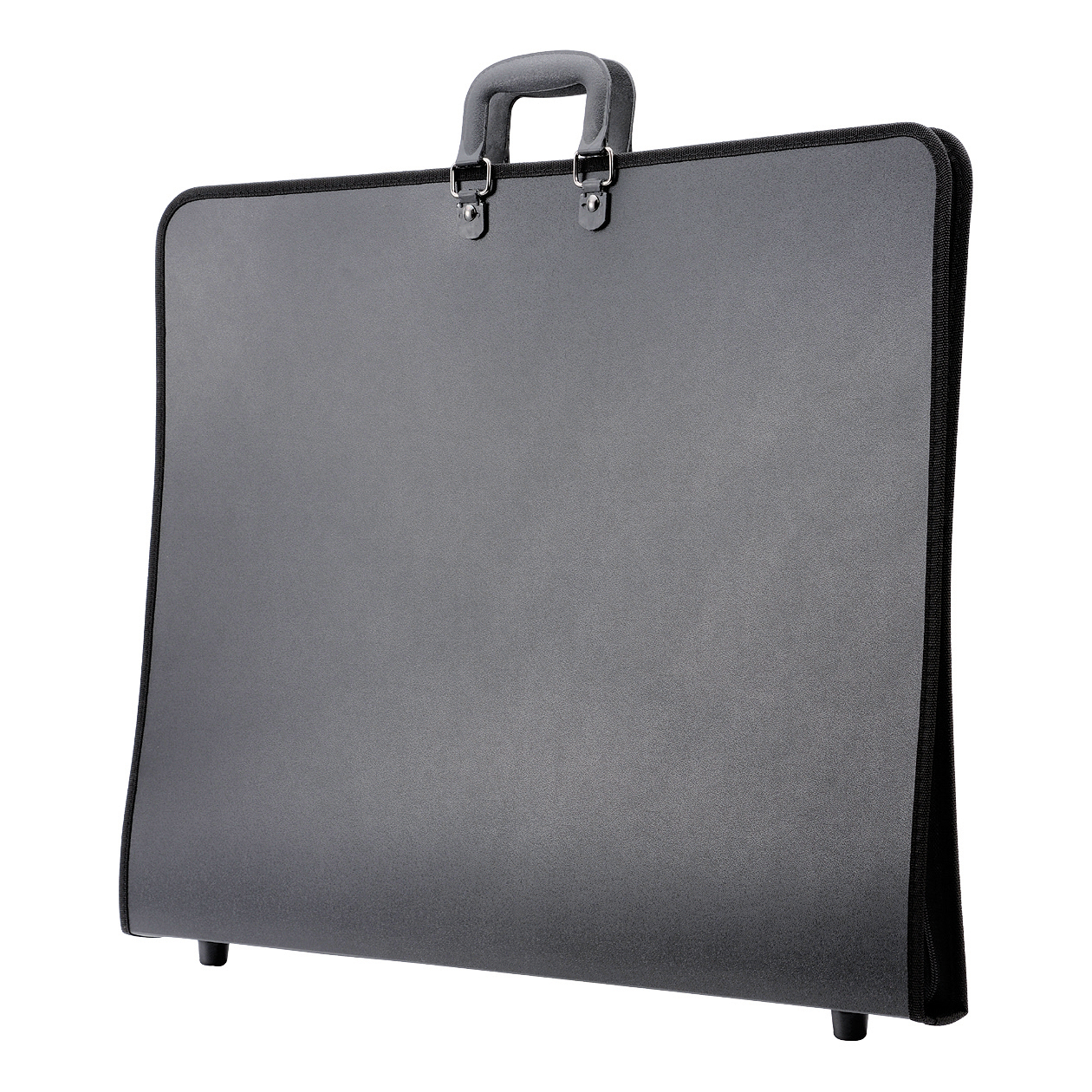 Potfolios Portfolio Polypropylene with Interior Pocket Elastic Straps and Zip A2 Black