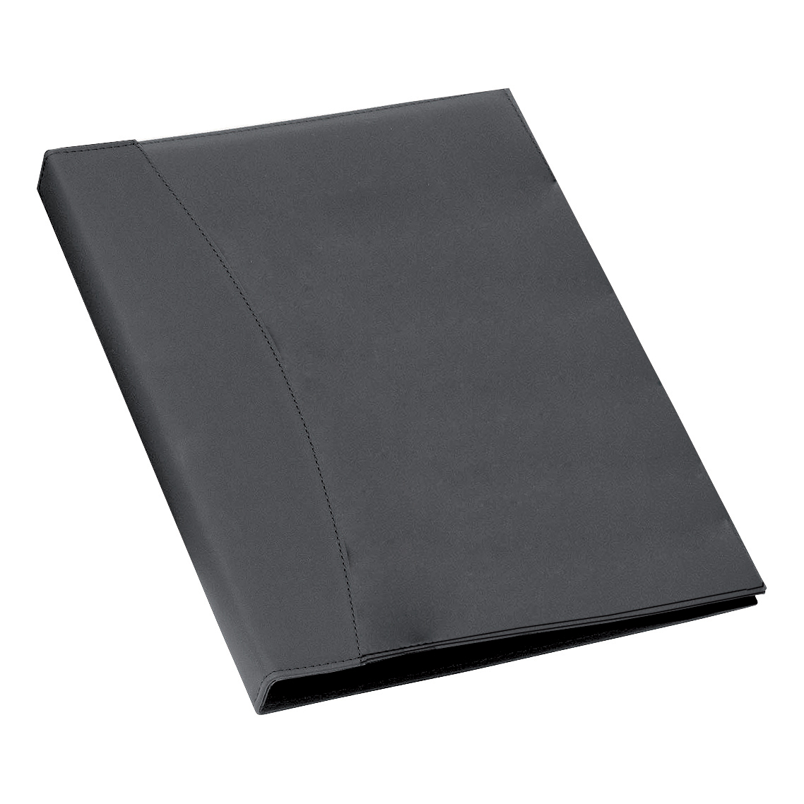 Rexel Display Book Soft Touch 24 Pockets A4 Smooth Black Ref 2101185