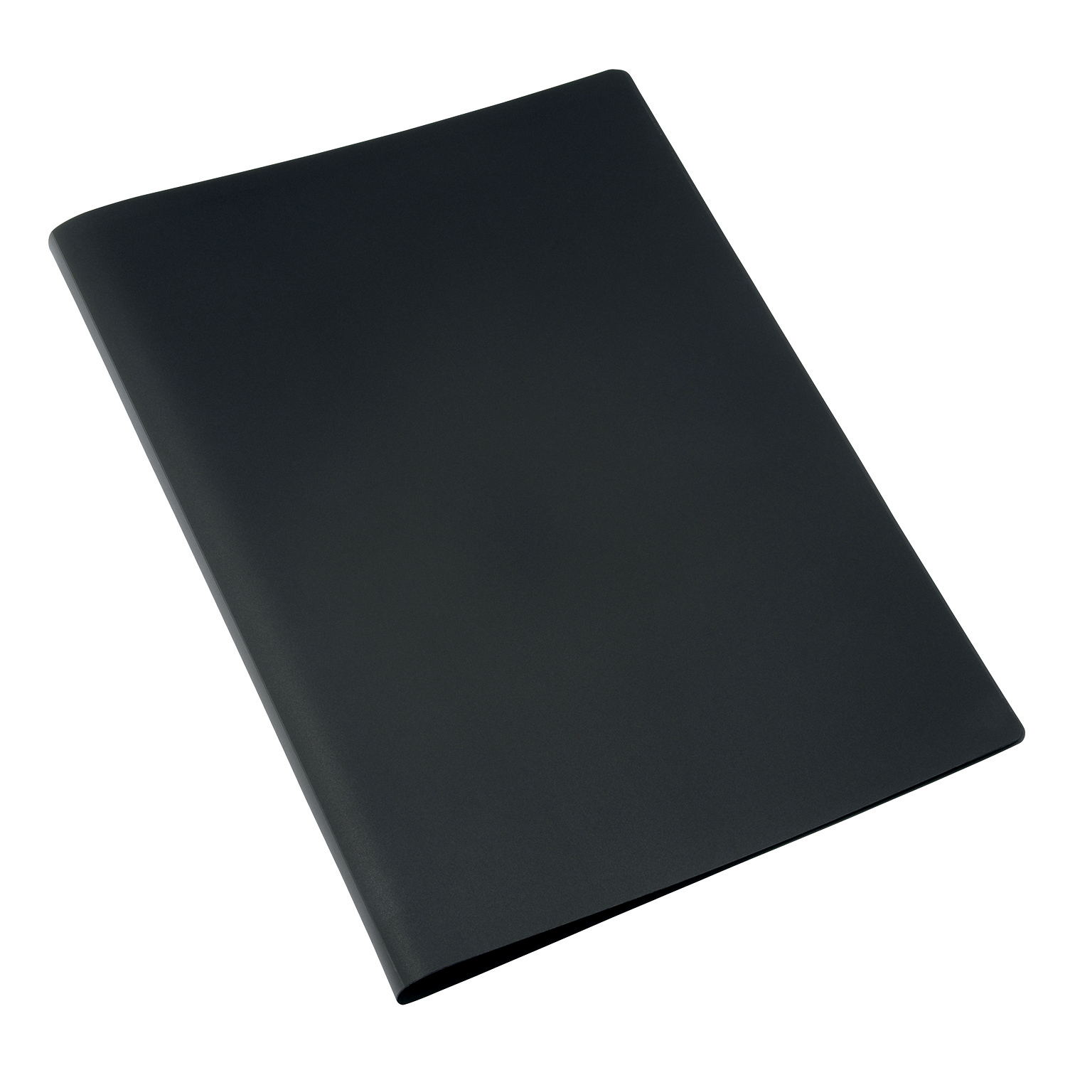Display Books 5 Star Office Display Book Soft Cover Lightweight Polypropylene 20 Pockets A4 Black