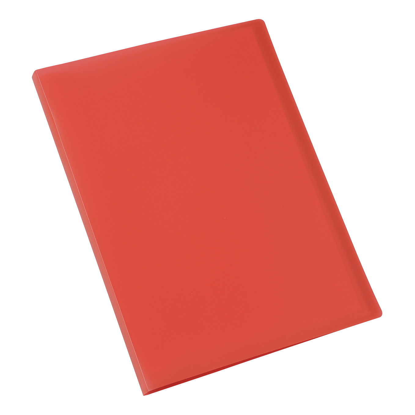 Display Books 5 Star Office Display Book Soft Cover Lightweight Polypropylene 20 Pockets A4 Red