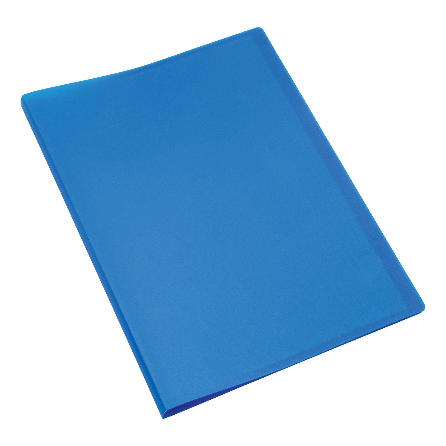 Display Books 5 Star Office Display Book Soft Cover Lightweight Polypropylene 10 Pockets A4 Blue