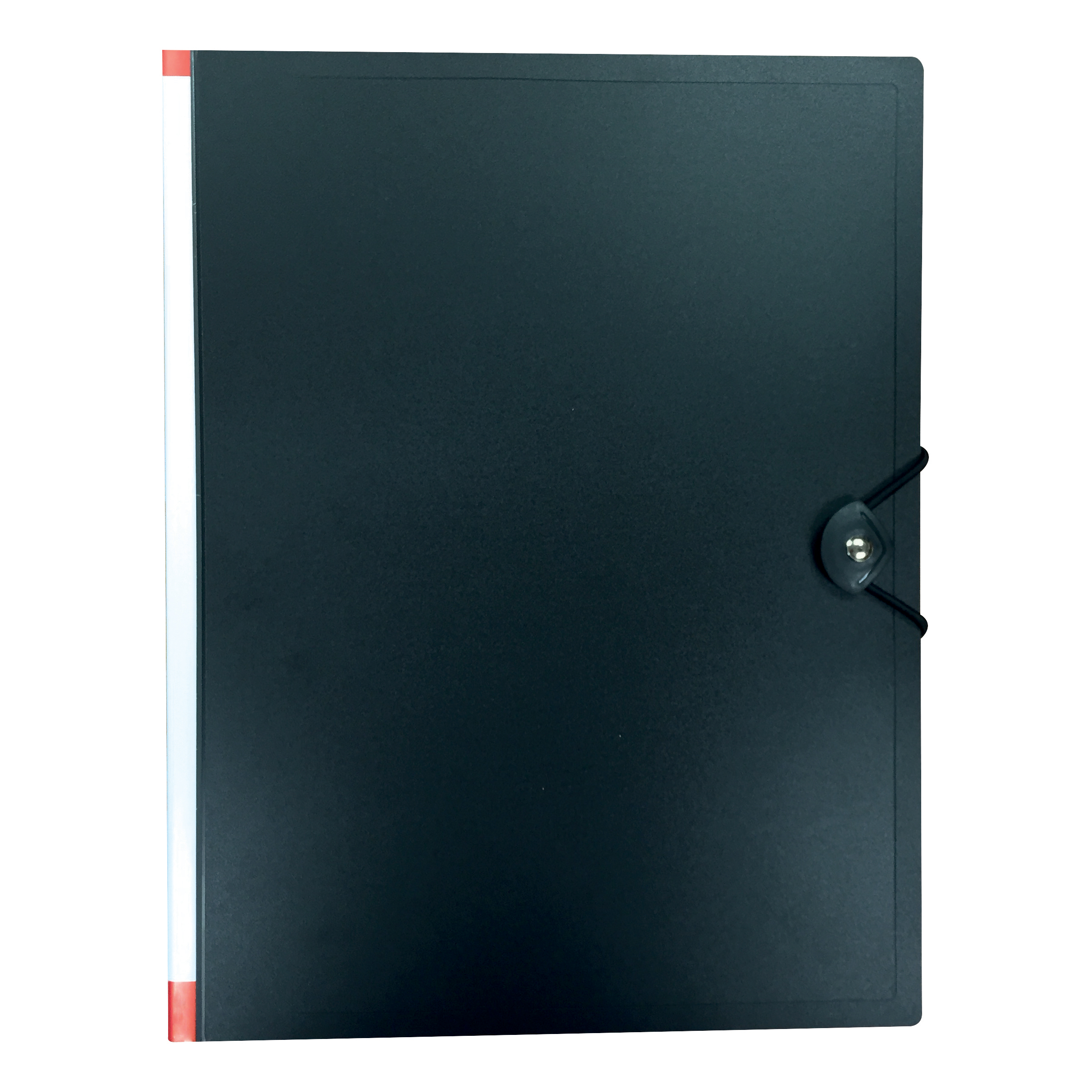 Display Books 5 Star Office Display Book Hardback Cover Polypropylene 100 Pockets A4 Black