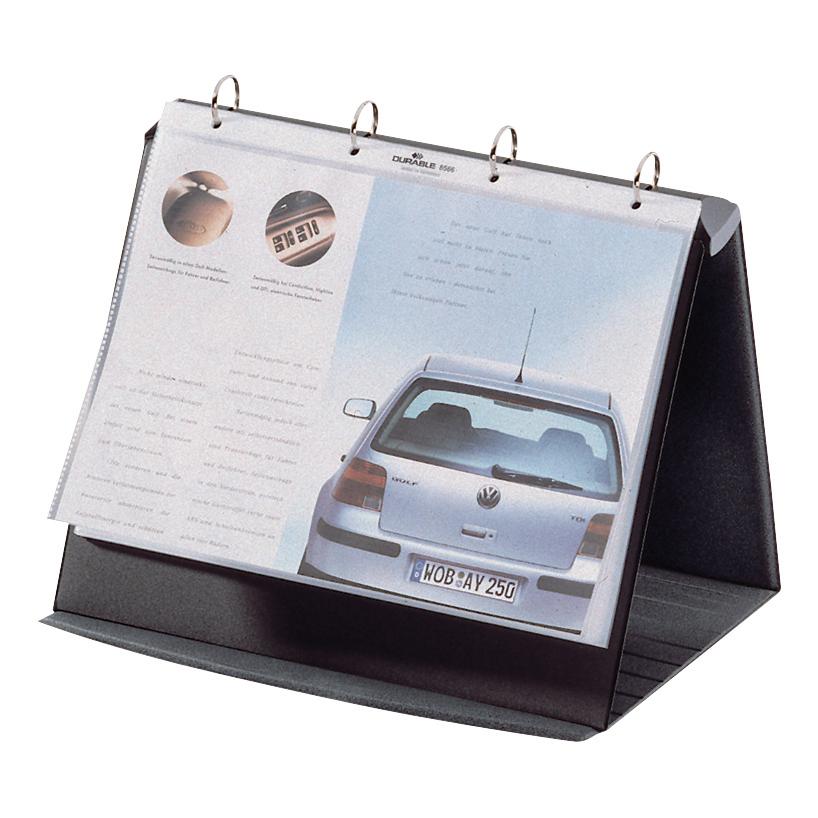 Easel Binders Durable Durastar Presentation Portfolio A4 Graphite Ref 8567