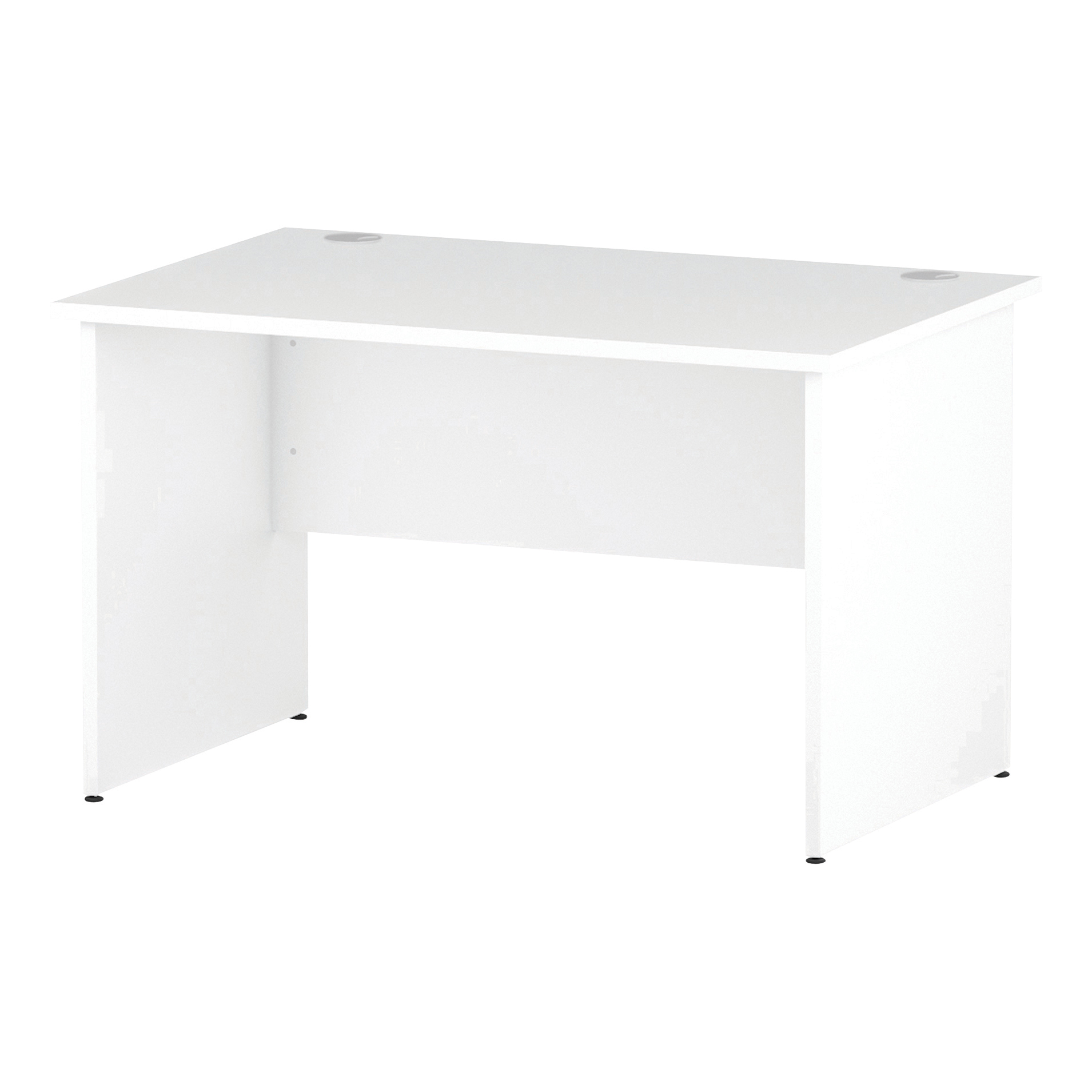 Trexus Rectangular Desk Panel End Leg 1200x800mm White Ref I000393