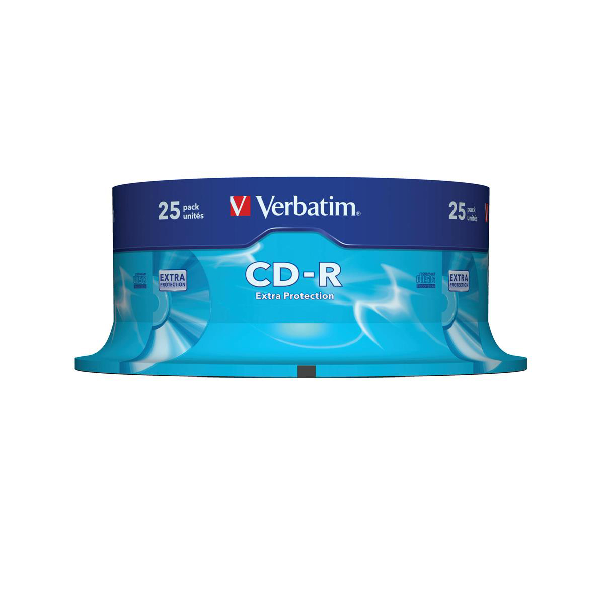 Verbatim CD-R Extra Protection Ref 43432-1 Pack 25