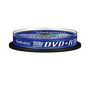 Verbatim DVD+R Spindle Ref 43498 Pack 10