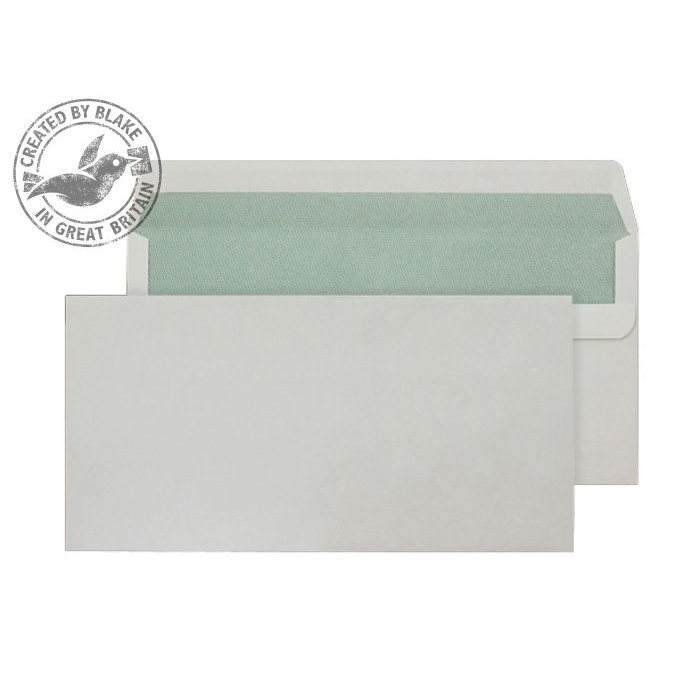 Purely Environmental Wallet Self Seal Natural White 90gsm DL Ref RE3258 Pk500 10 Day Leadtime
