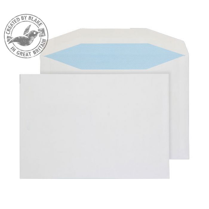 Purely Everyday Mailer Gummed White 90gsm C5 162x229mm Ref 3707 Pack 500 *10 Day Leadtime*