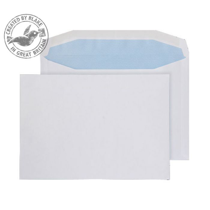 Purely Everyday Mailer Gummed White 90gsm C5+ 162x235mm Ref 4407 [Pack 500] 10 Day Leadtime