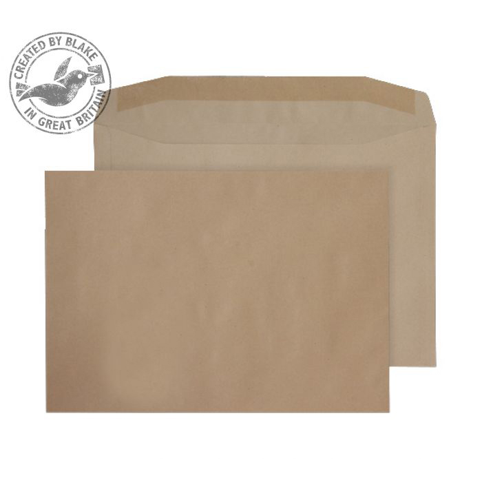 Purely Everyday Mailer Gummed Manilla 100gsm C4 229x324mm Ref 2709 [Pack 250] 10 Day Leadtime