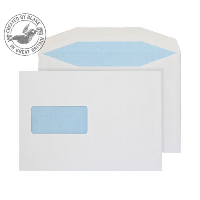 Purely Everyday Mailer Gummed Window White 90gsm C5 162x229mm Ref 3708 [Pack 500] 10 Day Leadtime