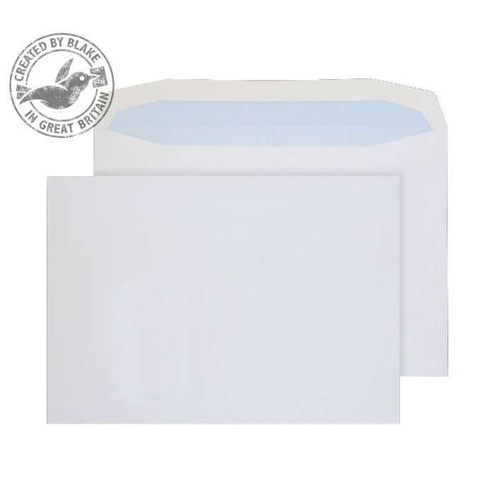 Purely Everyday Mailer Gummed White 100gsm C4 229x324mm Ref 3709 [Pack 250] 10 Day Leadtime