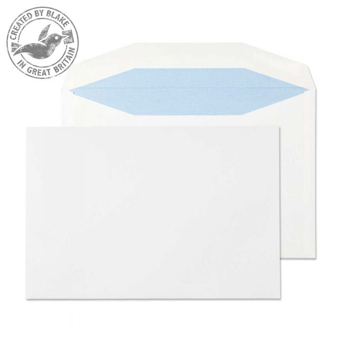 Purely Everyday Mailer Gummed White 90gsm C5+ 162x238mm Ref 4707 [Pack 500] 10 Day Leadtime