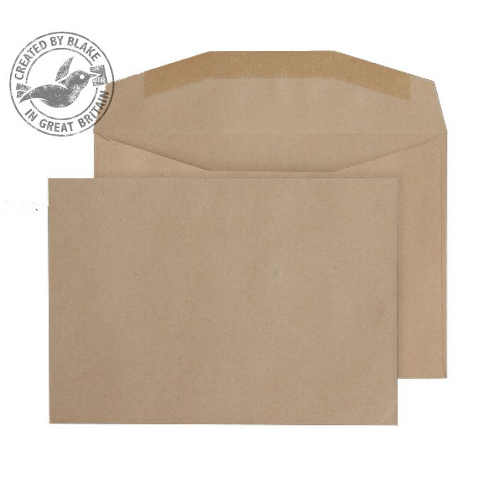Purely Everyday Manilla Gummed Mailing Wallet C6 114x162mm Ref 13775 Pack 1000 *10 Day Leadtime*