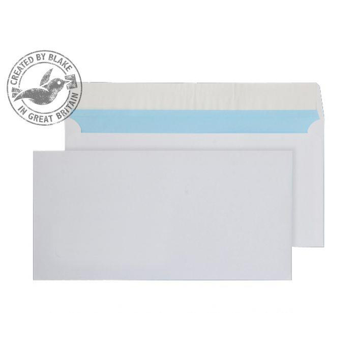 Purely Everyday Wallet P&S White 110gsm DL 110x220mm Ref FSC064 Pack 500 *10 Day Leadtime*