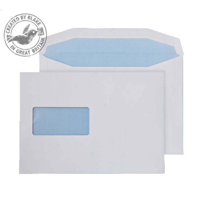Purely Everyday Mailer Gummed Window White 90gsm C5 162x229mm Ref 017M [Pack 500] 10 Day Leadtime