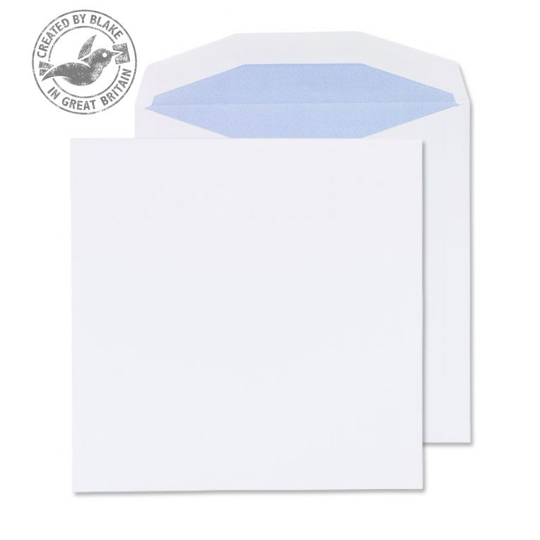 Purely Everyday Wallet Self Seal White 100gsm 220x220mm Ref 5700 [Pack 250] 10 Day Leadtime
