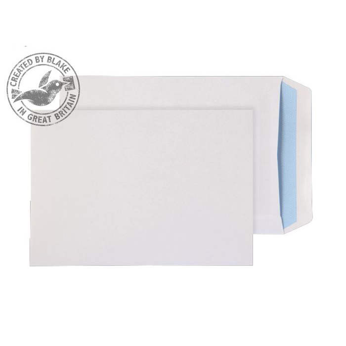 Purely Everyday White Self Seal Pocket C5 229x162mm Ref 13893 [Pack 500] 10 Day Leadtime