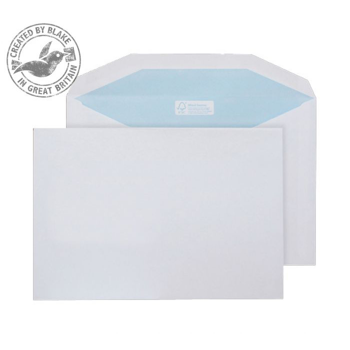 Purely Environmental Mailer Gummed White 90gsm C5 162x229mm Ref FSC377 [Pack 500] 10 Day Leadtime