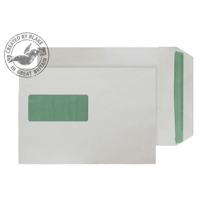 Purely Environmental Pocket SS Wndw Natural White 90gsm C5 Ref RE3831 Pk500 10 Day Leadtime