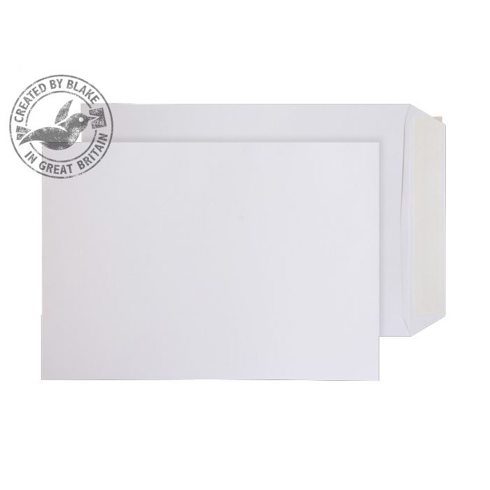 Purely Everyday Pocket P&S White 100gsm C4 324x229mm Ref 11891PS [Pack 250] 10 Day Leadtime