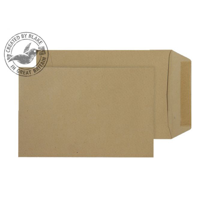 Purely Everyday Pocket Gummed Manilla 90gsm C5+ 240x165mm Ref 9275 Pack 500 *10 Day Leadtime*