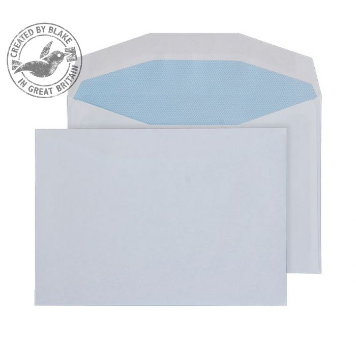 Purely Everyday Mailer Gummed White 90gsm C6 114x162mm Ref 3600 [Pack 1000] *10 Day Leadtime*
