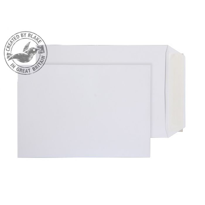 Purely Everyday Pocket P&S White 100gsm C5 229x162mm Ref 11893PS [Pack 500] *10 Day Leadtime*