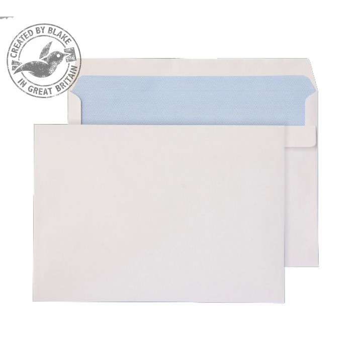 Purely Everyday Wallet Self Seal White 90gsm C5+ 162x238mm Ref 2807 [Pack 500] 10 Day Leadtime