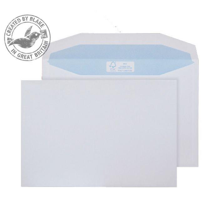Purely Environmental Mailer Gummed White 90gsm C5+ 162x238mm Ref FSC477 Pk 500 10 Day Leadtime