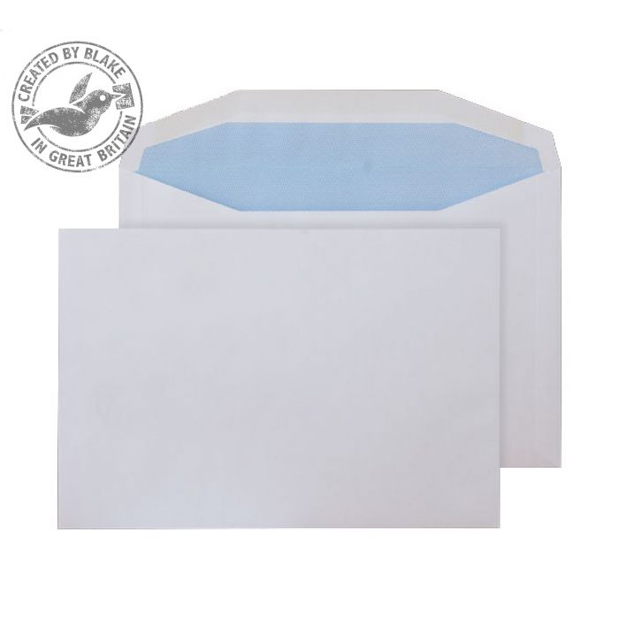 Purely Everyday Mailer Gummed White 115gsm C5 162x229mm Ref 4807 [Pack 500] 10 Day Leadtime