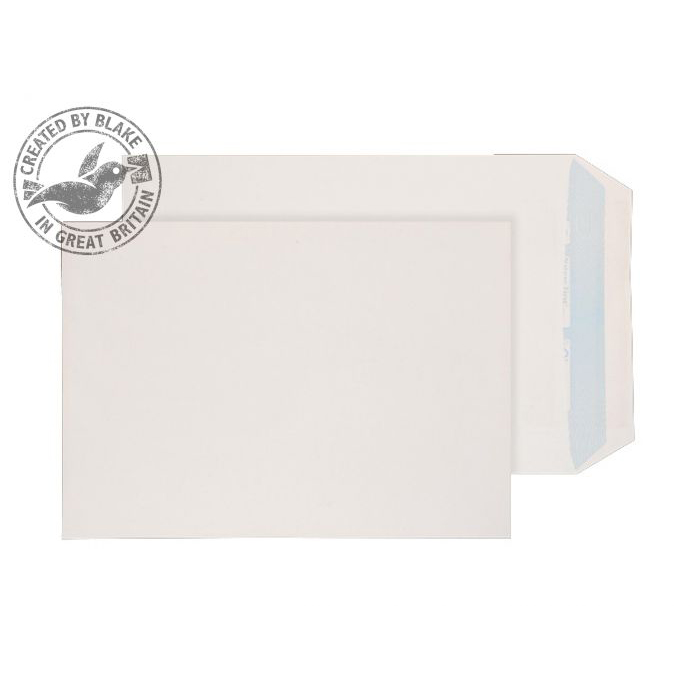 Purely Environmental Pocket Self Seal White 100gsm C4 324x229 Ref RN17891 Pk 250 *10 Day Leadtime*