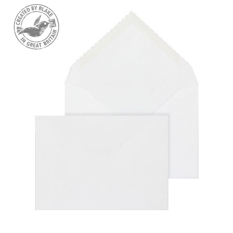 Blake Purely Everyday C6 Banker Invitation Gummed 90gsm White Ref 2003 Pack 1000 *3to5 Day Leadtime*