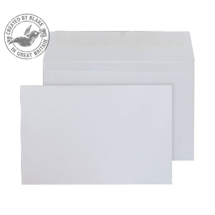 Purely Everyday Wallet Peel and Seal White 100gsm 94x124mm Ref ENV2167 [Pack 500] 10 Day Leadtime