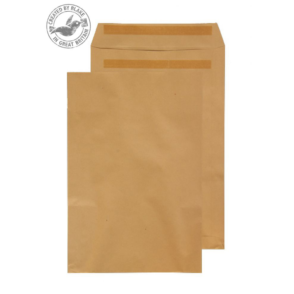 Purely Everyday Manilla Self Seal Pocket 381x254mm Ref 12890 [Pack 250] 10 Day Leadtime