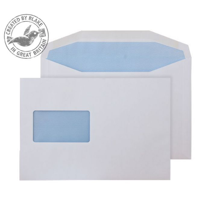 Purely Everyday Mailer Gummed Window White 115gsm C5 162x229mm Ref 4808 Pk 500 10 Day Leadtime
