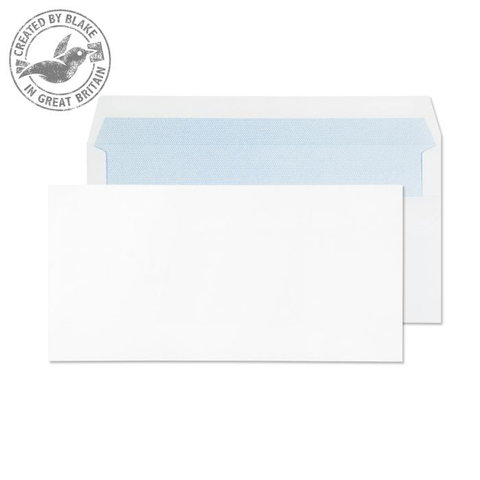 Purely Everyday White Self Seal Wallet DL 110x220mm Ref 13882 Pack 1000 *10 Day Leadtime*