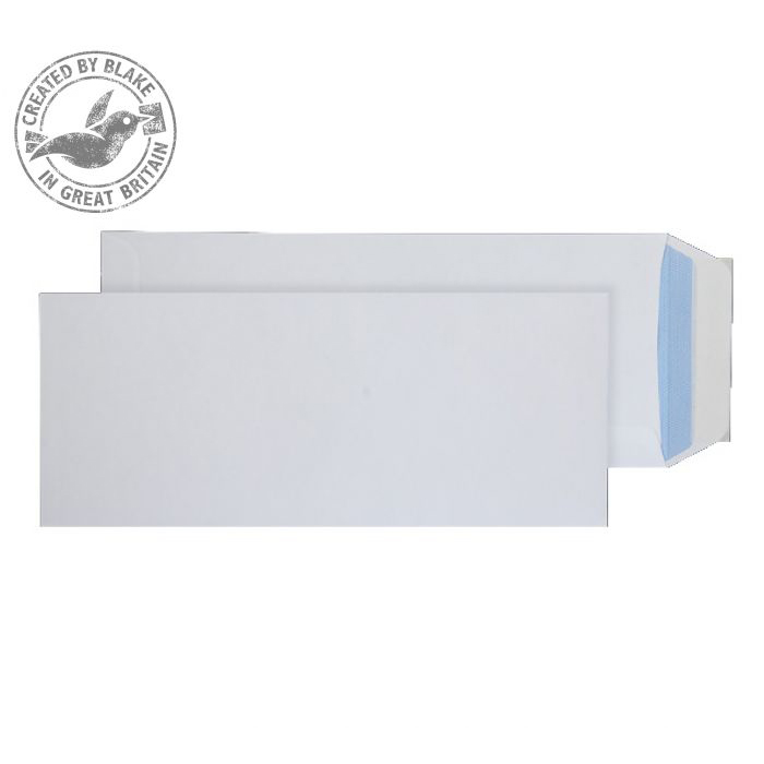 C4 Purely Everyday Pocket P&S White 100gsm Half C4 305x127mm Ref 3402PS Pack 250 *10 Day Leadtime*