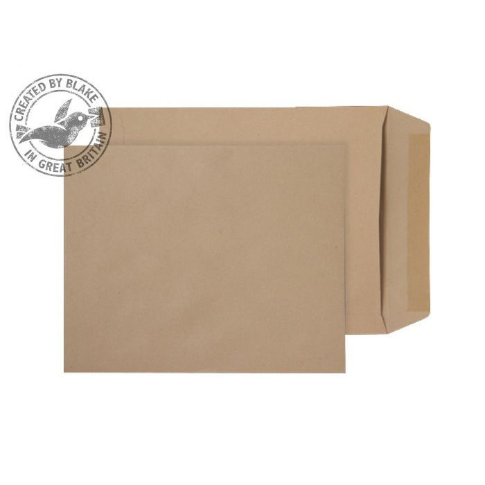 Purely Everyday Manilla Gummed Pocket 305x250mm Ref 12887 [Pack 250] 10 Day Leadtime