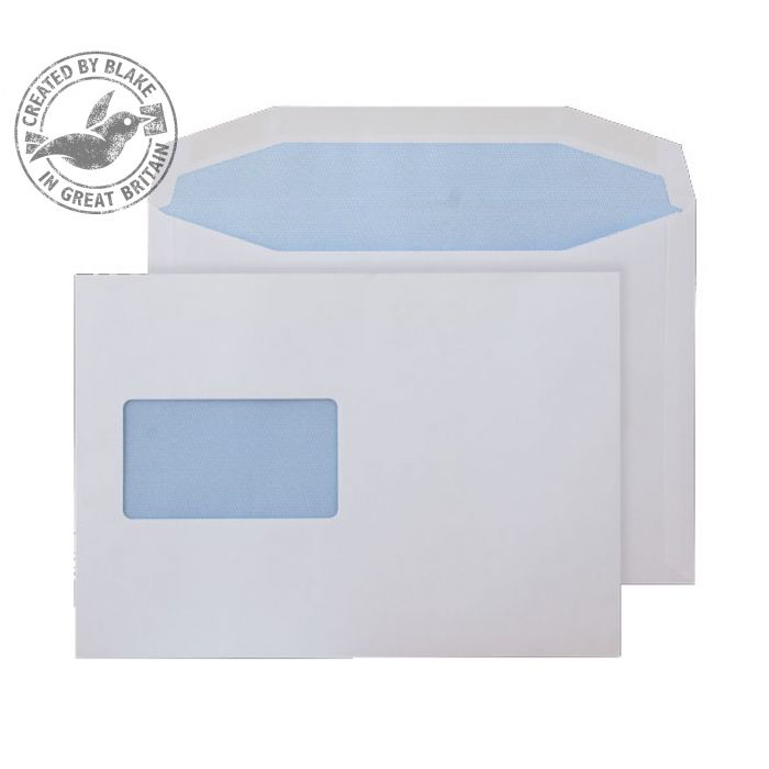 Purely Everyday Mailer Gummed CBC Wndw White 115gsm C5 162x229 Ref 4802CBC Pk500 10 Day Leadtime