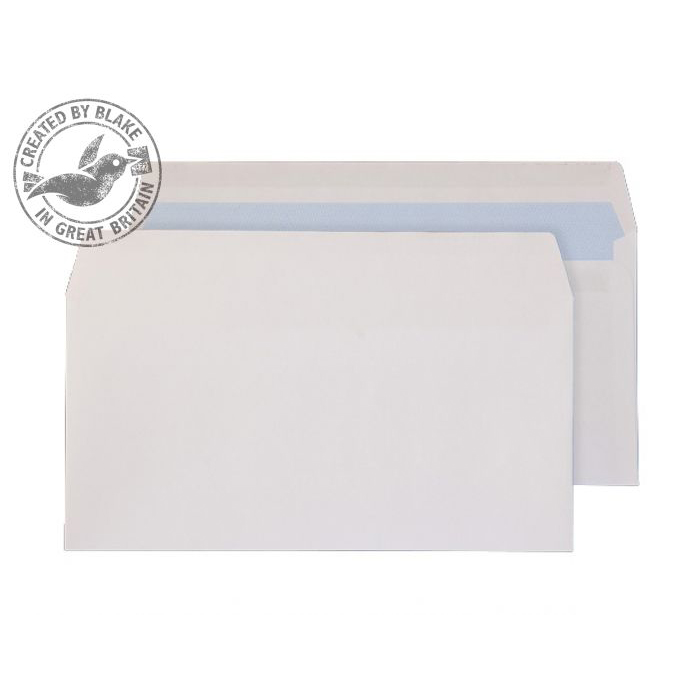 Purely Everyday Wallet Self Seal White 100gsm DL 110x220mm Ref 6622FU [Pack 500] *10 Day Leadtime*