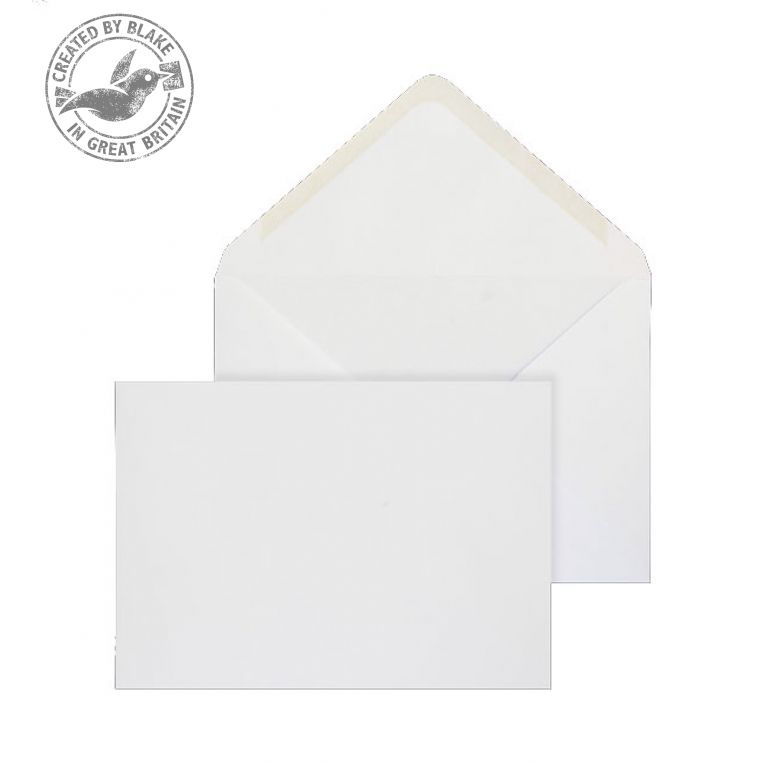 Purely Everyday Banker Invitation Gummed White 100gsm C5 162x229 Ref 2001 Pk 500 *10 Day Leadtime*