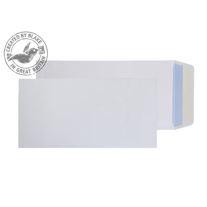 Purely Everyday Pocket P&S White 100gsm 2/3 C4 305x152mm Ref 2401 [Pack 250] 10 Day Leadtime