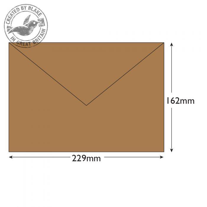 Purely Everyday Banker Invitation Gummed Manilla C5 162x229 90gsm Ref 4001 Pk 500 10 Day Leadtime