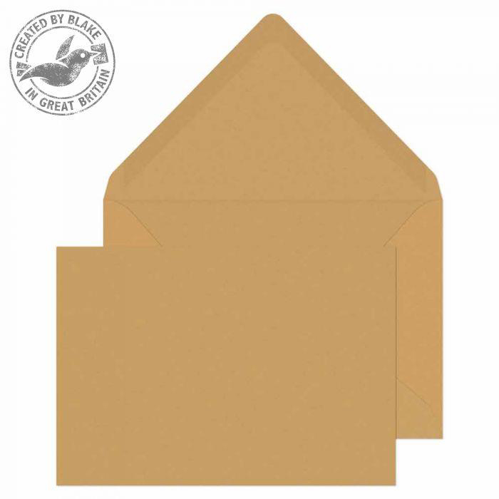 Blake Purely Everyday C6 Banker Invitation Gummed 90gsm Manilla Ref 4002 Pack 1000 *3to5 Day Leadtime*