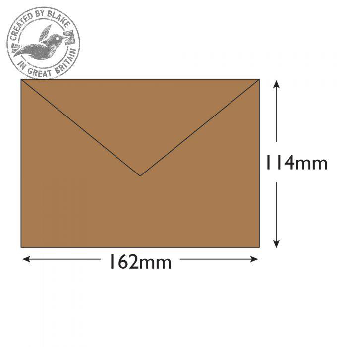 Purely Everyday Mailer Gummed Manilla 90gsm C6 114x162mm Ref 4002 [Pack 1000] *10 Day Leadtime*