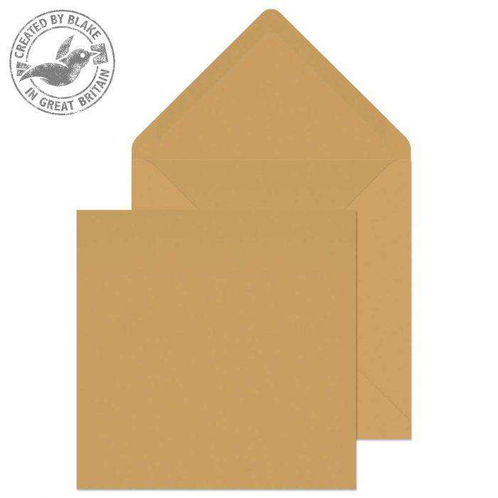 Purely Everyday Banker Invitation Gum 90gsm Square 155x155mm Manilla Ref 4255 Pk500 3to5 Day Leadtime